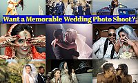 Want a Memorable Wedding Photo Shoot? Book Blue Eye Picture  Team Now