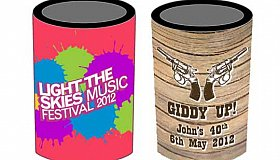 Bulk Promotional Stubby Holders Perth and Custom made Stubby Holders Australia