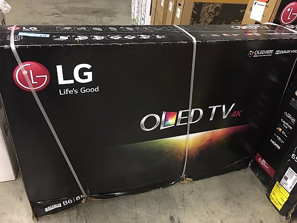 LG OLED65B6P Flat 65–Inch 4K Ultra HD TV