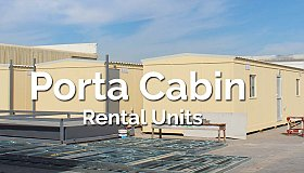 Porta Cabin Rental in UAE | Cabins and Shades FZC