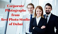 Now Get Corporate Photographs from Best Photo Studio of Dubai at Low Prices