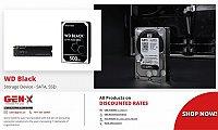 WD Black Hard Drive | Western Digital Black SSD Hard Drive | Genx System