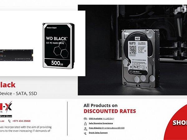 WD Black Hard Drive   Western Digital Black SSD Hard Drive   Genx System