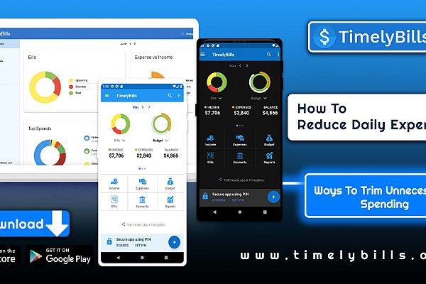 Free Money Manager App   timelybills.app