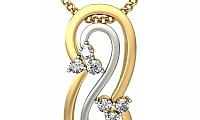 Latest Pendant Designs in Gold | Buy Pendants Online
