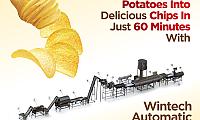 Automatic Wintech Potato Chips Line | Wintech Taparia