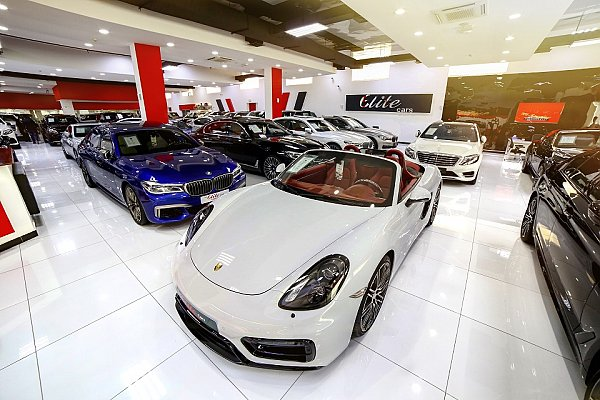 Top Luxury Car Collection in the Middle East - The Elite Cars