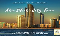 Abu Dhabi City Tour Package & Deal from Dubai & Sharjah| AED 100