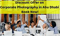 Discount Offer on Corporate Photography in Abu Dhabi - Book Now!