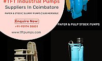 Pump Suppliers Coimbatore - Industrial Pump Suppliers - tftpumps.com