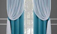 chiffon curtains services in Dubai