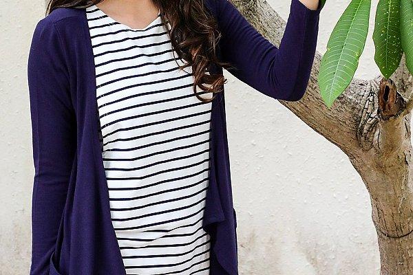 Jessica Navy Dress - Lovemère