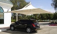 Car park shades, Tensile shades, Pergolas, Canopies, Awnings | Arabian Tents, Sharjah
