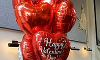 love heart balloons in Dubai