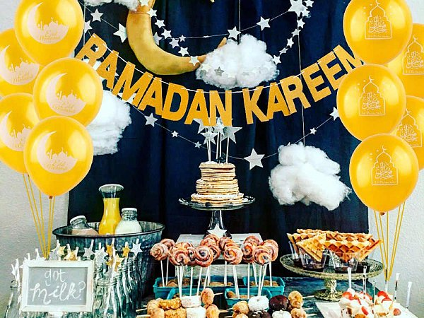 Ramadan party supplies in Dubai