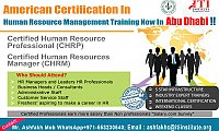 Human Resource Training in Abu Dhabi , from ACI-USA.