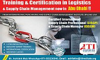 Logistics and Supply Chain Professional / Manager courses in UAE
