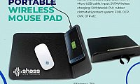 Portable Wireless Mouse Pad