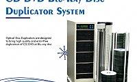 CD DVD Blu-Ray Disc Duplicator Systems