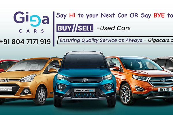 Buy Used Cars in Bangalore - Sites to Sell Cars - Gigacars.Com