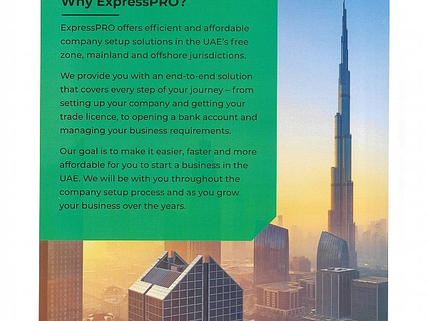 ExpressPRO Makes It Easier, Faster And Affordable For You To Start A Business