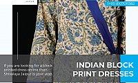 Hand Block Print Dresses