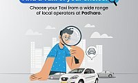 Hire one way taxi from Padharo at most affordable price