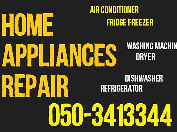 Air Conditioning - Refrigerator Appliance Service Repair in Dubai