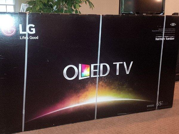 LG OLED55C6P Curved 55-Inch 4K Ultra HD Smart OLED TV (2016