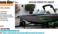 2019 MB SPORTS F22 TOMCAT | CaliforniaSkier