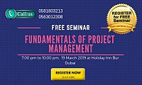 Free Seminar on Fundamentals of Project Management (PMP) in Dubai