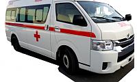 Toyota Hiace High Roof Ambulance - Abronn FZE
