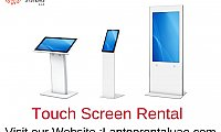 Touch Screen Rental | Touch screen rental Dubai | Multi-touch Screens Rental