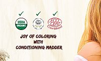 Best Ayurvedic Hair Color Products Online   Natural Hair Colour