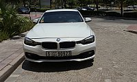 BMW 318i 2017 model, spotless, just 4000km, 3 yrs service contract
