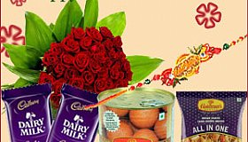 Bind your bond with brothers much stronger through captivating Rakhi Gifts