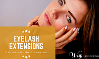 Enhance your beauty with Eyelash Extensions at Wisp Lash Lounge