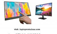 Large touch screen displays for rent  - Techno Edge Systems LLC