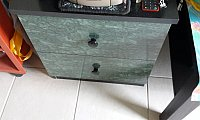 Bedside Tables w/drawers - 2 nos