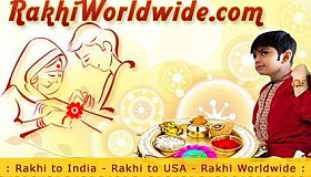 Make you sibling happy and spread elegance as you Send Rakhi to USA Online