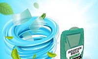 Mint flavour Mouth freshener Strips