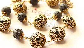 Ethnic-antique-gold-lava-beaded-necklace-earrings-set_grid.jpg