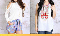 Purchase cly Trendy Women's Tops from Southern Honey Boutique