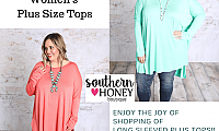 Be Yourself With Women's Plus Size Tops From Southern Boutiques