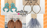 Explore fashion with Trendy Earrings from Southern Boutique