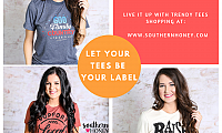 Jaw-dropping Women's Graphic Tees from Southern Boutiques