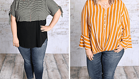 Avail fascinating Women's Plus Size Tops from Plus Size Southern Boutique