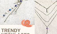 Shop Trendy Necklaces for Shiny look from Southern Honey Boutique