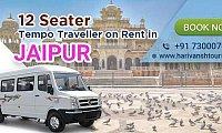 12 Seater Tempo Traveller on rent in Jaipur - Harivansh Tours