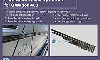 AMG Line Moldings (Carbon)